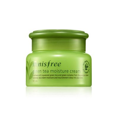 綠茶保濕面霜-0