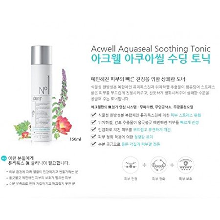 Acwell Aqua Seal Soothing Tonic 高水防敏爽膚水-1332