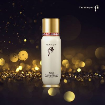 The History of 后 First Care Moisture Anti-Aging Essence 秘貼清顏順滑精華液循環精華 -0