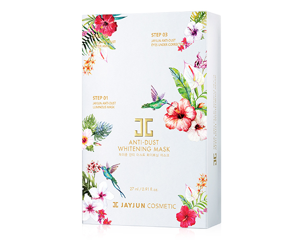 JayJun Anti-Dust Whitening Mask 防雾霾美白面膜-1374