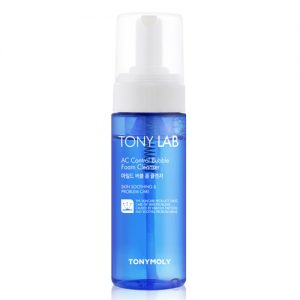 Tony LAB AC Control Bubble Foam Cleanser